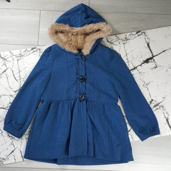 Marc By Marc Jacobs Jackets & Blazers - Marc Jacobs Blue Zip Hooded Peacoat Size Medium